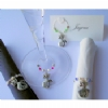 Wine Glass Charms, Napkin Rings & Bottle Bangles