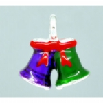Enamel 3D Christmas Bell Charms