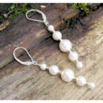 Mila Crystal Pearl Earrings
