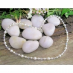 Serendipity Crystal & Pearl Necklace