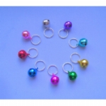 Multicoloured Tinkling Bell Charms