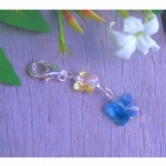Kitoko Something Blue Butterfly Charm