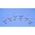 The Cat Collection Wine Glass Charms & Napkin Rings