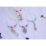 Celebration Collection Wine Glass Charms & Napkin Rings