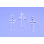 Cross Outline Charms