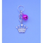 Crystal Crown Pet Collar Charm