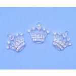 Crystal Crown Charms