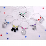 The Dog Collection Wine Glass Charms & Napkin Rings