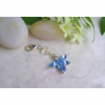 Crystal Dragonfly & Butterfly Something Blue Charm