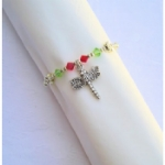 Butterfly / Dragonfly Beaded Napkin Ring