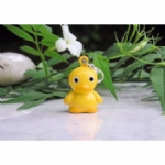 Enamel Duck Bell Pet Collar Charm