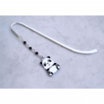 Fun Enamel Panda Bookmark
