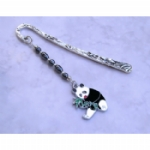 Enamel Panda Bookmark