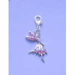Crystal Fairy Zip Charm