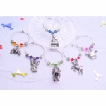 Fairytale Collection Wine Glass Charms & Napkin Rings