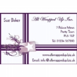 Gift Wrap Business Card