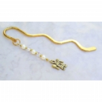 Golden Angel Bookmark