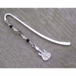 Crystal Guitar Bookmark