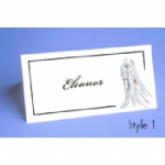 Harmony Folded Place Name Cards