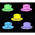 Personalised Medium Hat Tags
