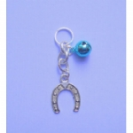 Horseshoe Pet Collar Charm