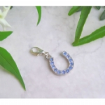 Crystal Horseshoe Pet Collar Charm