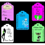 Large Personalised Classic Tags