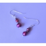 Marla Multi-Coloured Freshwater Pearl Earrings