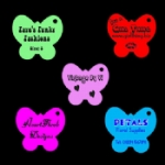 Medium Personalised Butterfly Tags