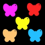 Medium Butterfly Tags