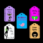 Medium Personalised Classic Tags