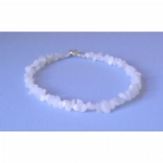 Rainbow Moonstone Chip Anklet