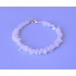 Rainbow Moonstone Chip Bracelet