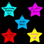 Medium Personalised Star Tags