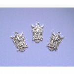 Perched Owl Charms