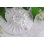 Crystal Pearl Wine Glass Charms & Napkin Rings