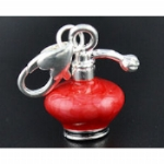 Enamel Perfume Bottle Charms