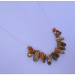 Picasso Jasper Stick Floating Necklace