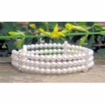 Purity Multi-Strand Crystal Pearl Bracelet