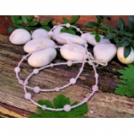 Rose Quartz Glasses Chain