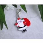 Enamel Father Christmas Pet Collar Charm
