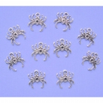 Silver Colour Spider Charms