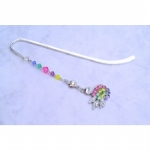 Crystal Swan Bookmark