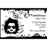 Funkalicious Business Card