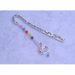 Crystal Treble Clef Bookmark