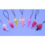 Voodoo Doll Mobile /MP3 Player Charm